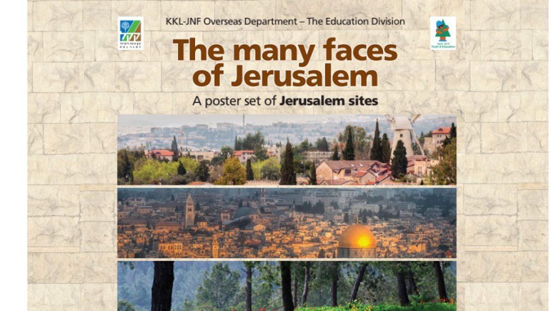 The Many Faces of Jerusalem: A Poster Set of Jerusalem Sites