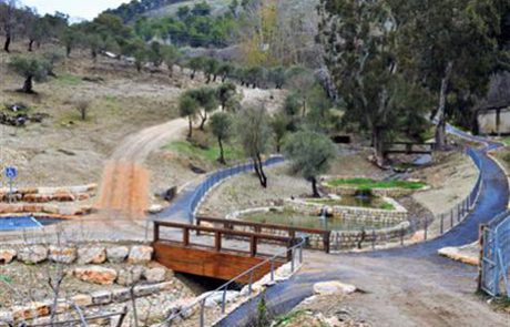 KKL-JNF Restores Tzfat's Blue Valley Park