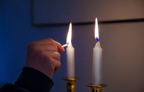 """A """"Tkhine"""" for Lighting Candles on Shavuot"""