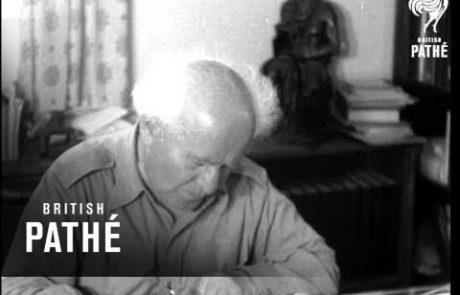 David Ben-Gurion — The 'Old Pioneer'