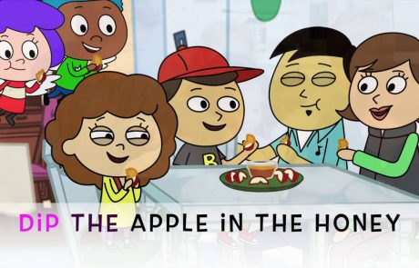 Dip the Apple in the Honey: A Rosh Hashanah Song for Kids