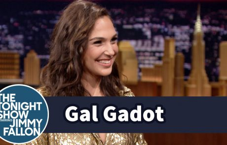 Gal Gadot on The Tonight Show
