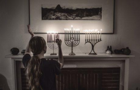 Hanukkah Blessings & Hanerot Halalu with Feminine God Language