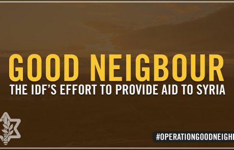 Operation Good Neighbor: The IDF's Humanitarian Aid to Syria