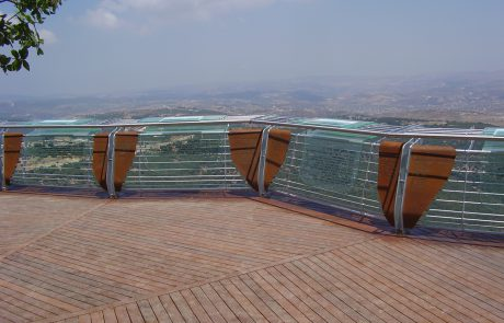 Har Adir Observation Point: In Memory of Fallen Soldiers from the Second Lebanon War