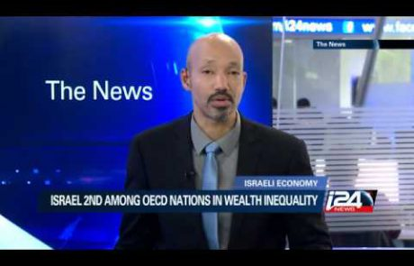 Wealth Inequality in Israel: 2nd Highest Among OECD Countries