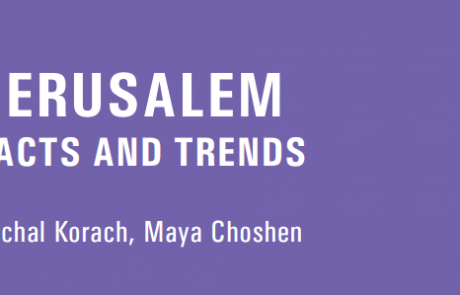 Jerusalem: Facts and Trends 2018