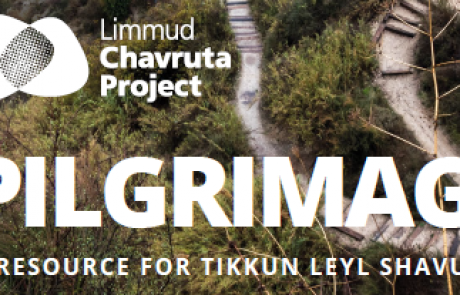 Pilgrimage: A Resource for Tikun Leil Shavuot from Limmud