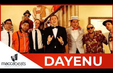 "The Maccabeats: A Multi-Genre Twist of the Traditional ""Dayenu"""