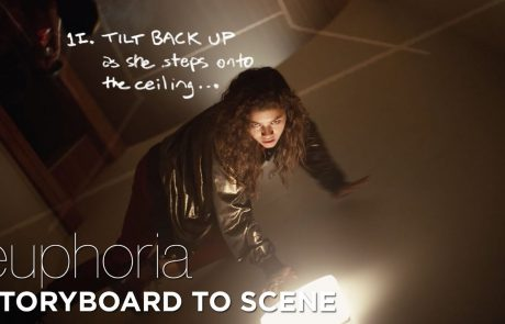 Storyboard to Scene in 'Euphoria'