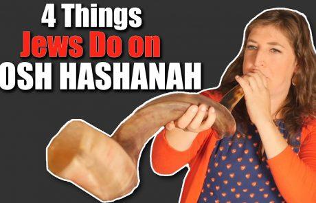 Mayim Bialik: 4 Things Jews Do on Rosh Hashanah