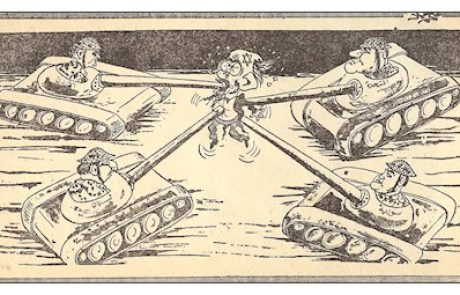 Arab Political Six Day War Cartoons