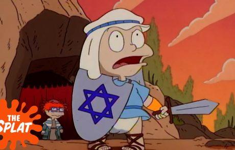 Clips from A Rugrat's Hanukkah