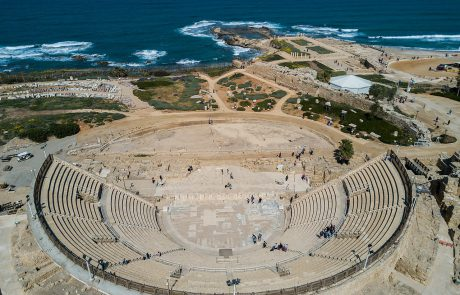 Ancient Amphitheater Rocks as Shalit Returns Home