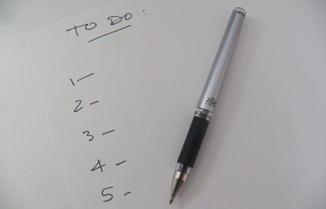 Pre-Bar-Mitzvah Checklist