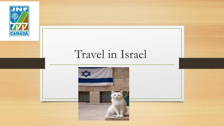 Travel in Israel