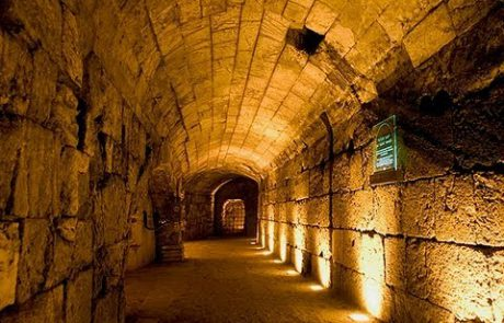 A Virtual Guide of the Western Wall Tunnels