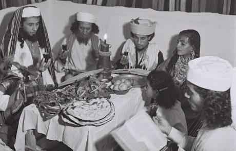 Yemenite Custom for Eishet Chayil